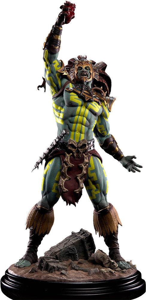 Mortal Kombat X-Kotal Kahn Dios Sol 1 4 Escala Estatua (Pop Culture Shock)  NEW