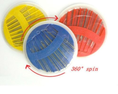 sewing needles Assorted Size Hand Threading Craft   Disc 24 needles x 1 Pack