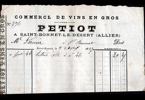 SAINT-BONNET-le-DESERT-03-VINS-en-gros-034-PETIOT-034-en-1887