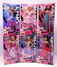 Rare BARBIE SWAPPIN STYLES IN THE SPOTLIGHT 2010 Evening Gowns Complete Set_NRFB