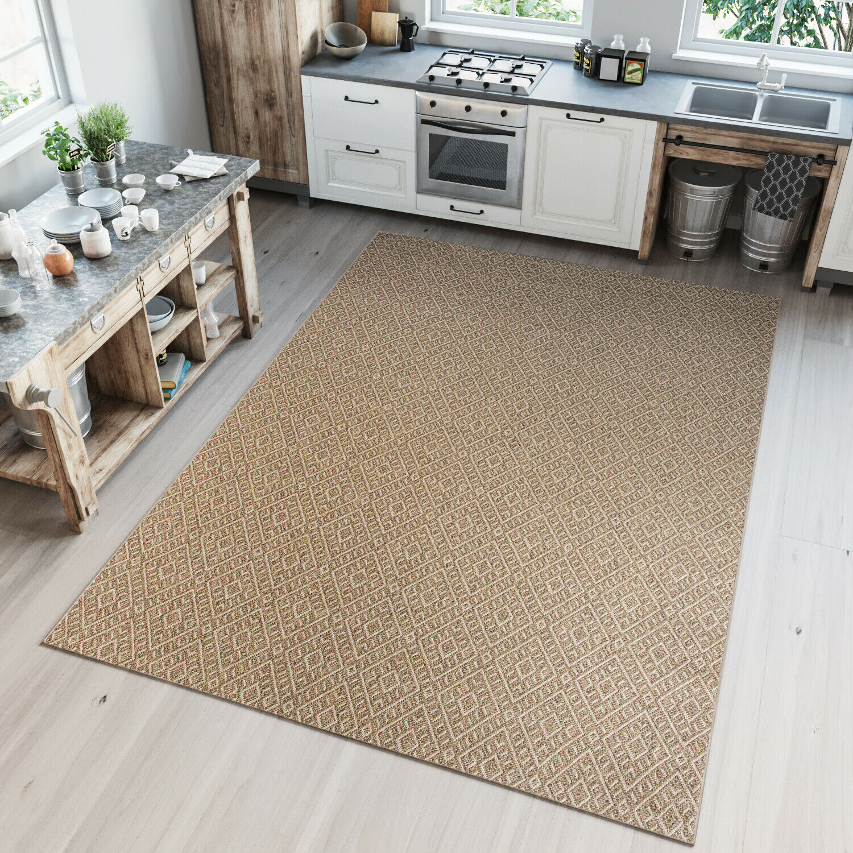 Tapiso Sisal Tappeto moderno tappeto per cucina Patio ...