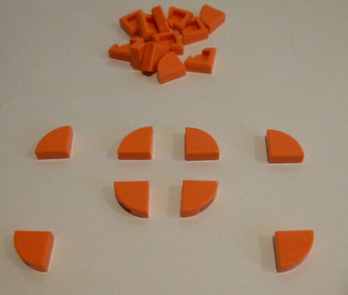 20 x LEGO® 25269 Systemstein,Fliesen,Kacheln 1//4Kreis 1x1 in cora//coral rosa.Neu