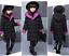 Kids Girls Winter Padded Warm Coat Jacket Hooded Outerwear Down Parka Coat