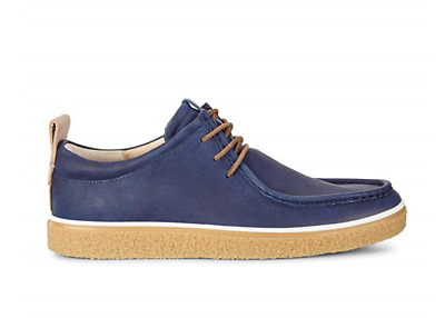 ECCO Herren Crepetray Mokassin Blue Lace Up Sneaker UK 11.5EU 46 & US 12 £150 | eBay
