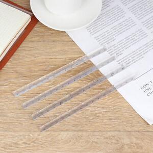 15cm-Transparent-Straight-Ruler-Students-Stationery-Simple-Triangular-Ruler-NTAT