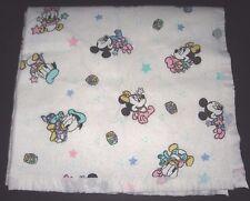 Vintage Disney Babies Baby Mickey Minnie Donald Daisy Blocks Stars Crib Blanket