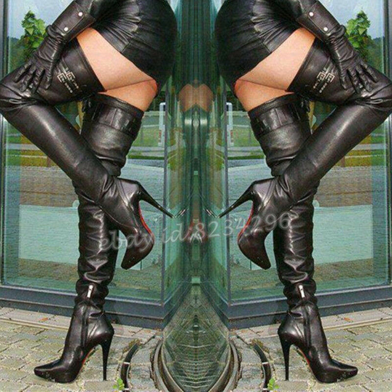 Top Hot Boot Womens Boots Stiletto High Heels Boots shoes gr35-47