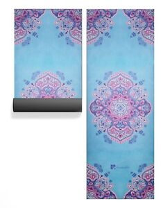 Image is loading Resveralife-Mandala-Yoga-Mat-Luxury-Non-Slip-Exercise- 473abedb8428c