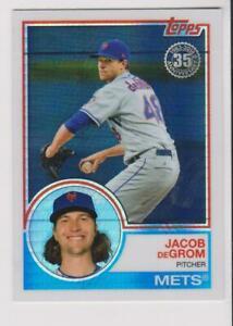 2018-Topps-1983-Refractor-Jacob-DeGrom-card-New-York-Mets