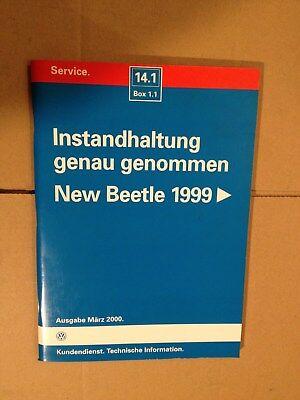 Reparaturleitfaden Werkstatthandbuch Instandhaltung Genau Genommen New Beetle 99