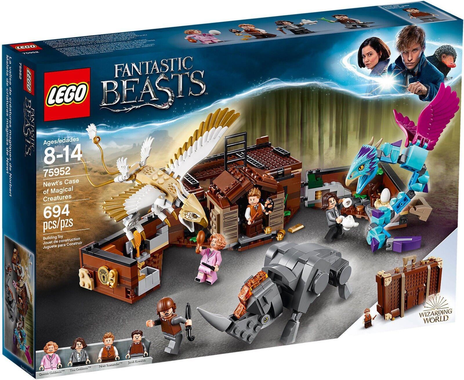 LEGO Harry Potter 75952 - La Valise De Créatures Magique Par Triton NEUF