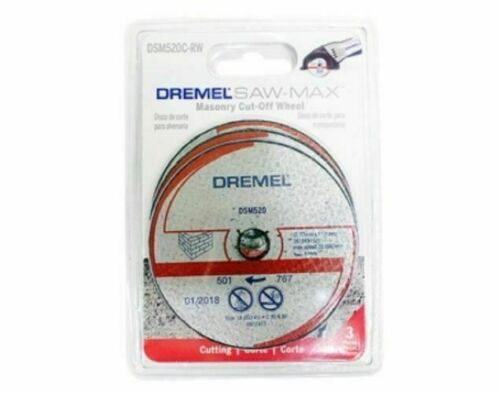 DREMEL Saw Max Blade Stone Cutting Wheel DSM520C Tool Tools/_AU