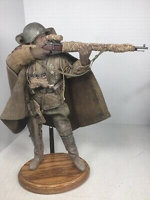 DID WWII Red Army sniper Koulikov wood n metal rifle 1//6 toys soviet Russian 3R