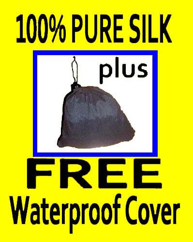 SILK LINER_Guarenteed WATERPROOF Sleeping Bag Cover_100% silk liner