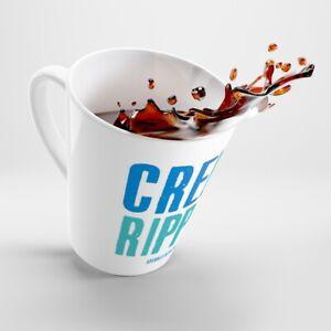 Create Ripples (not spills) Latte mug