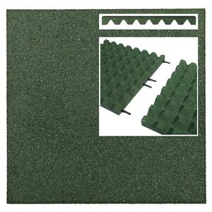 Fallschutzmatten-GRUN-Verbinder-Fallschutzplatte-Gummimatte-Fallschutzmatte