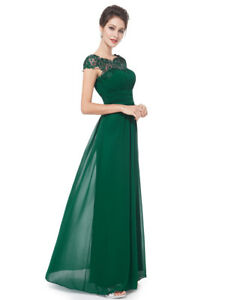 Ever-Pretty Women Lace Long Maxi Bridesmaid Dresses Forml Evening Prom Gown 9993