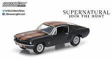 1:64 GreenLight *HOLLYWOOD R9* BLACK 1967 Ford Mustang *SUPERNATURAL*