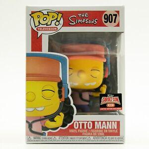 Funko Pop Target Con 2021 The Simpsons Otto Man 907