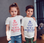Keep Calm I/'m going to be a  big brother childrens Personalised T-shirt  kids