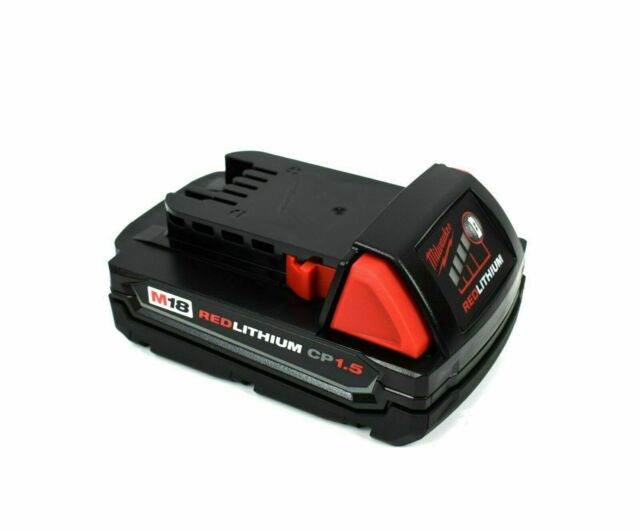 Milwaukee M18 Red Lithium-Ion 18-Volt CP 1.5 Ah Compact Battery 48-11-1815