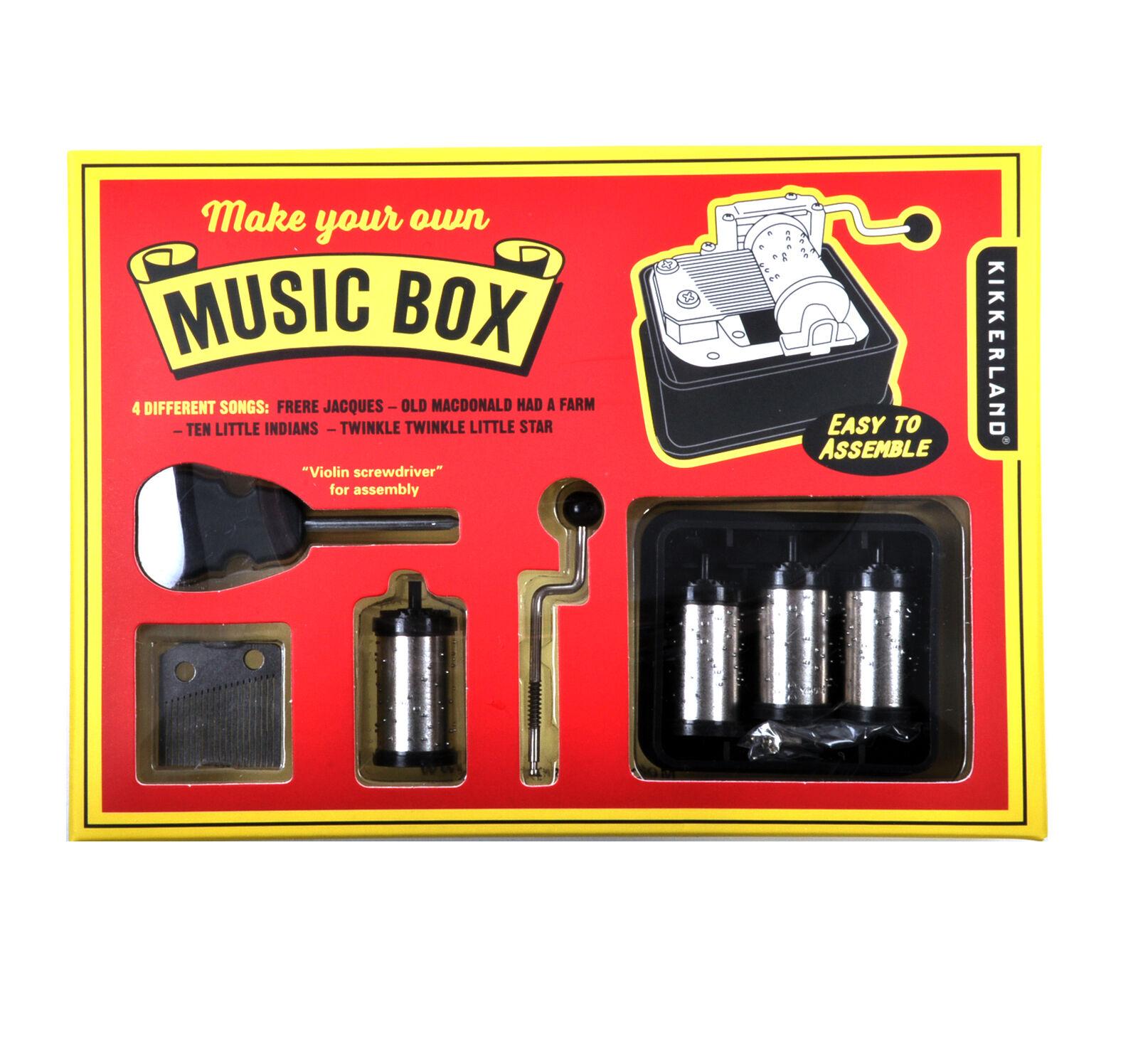 Erstellen Sie Ihren Eigenen Spieldose Set