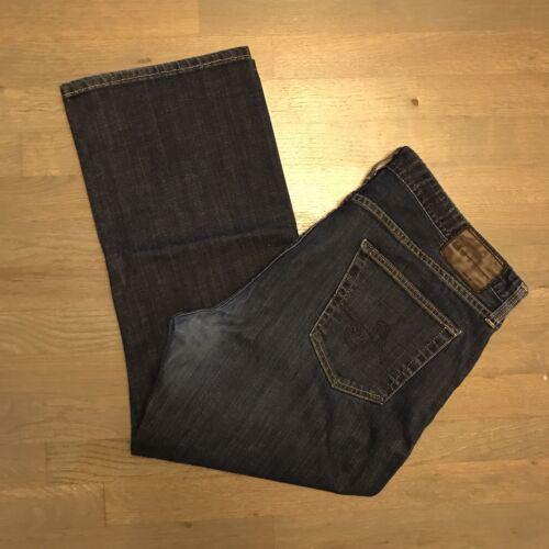 Uomo Leg Protege The Adriano Goldschmied Denim Jeans X 40 Straight Taglia 27 aqqIF8rw