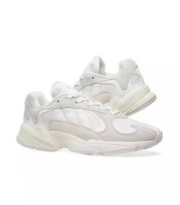 4e90234be3 Details about Mens Adidas Yung-1 Cloud White Running White B37616 New US 9