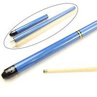 Jonny 8 Ball Blue Triad 3pc Ash Pool Snooker Cue 8.5mm Tip - Length Adjustable