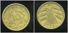 ALLEMAGNE 10 rentenpfennig 1924 A
