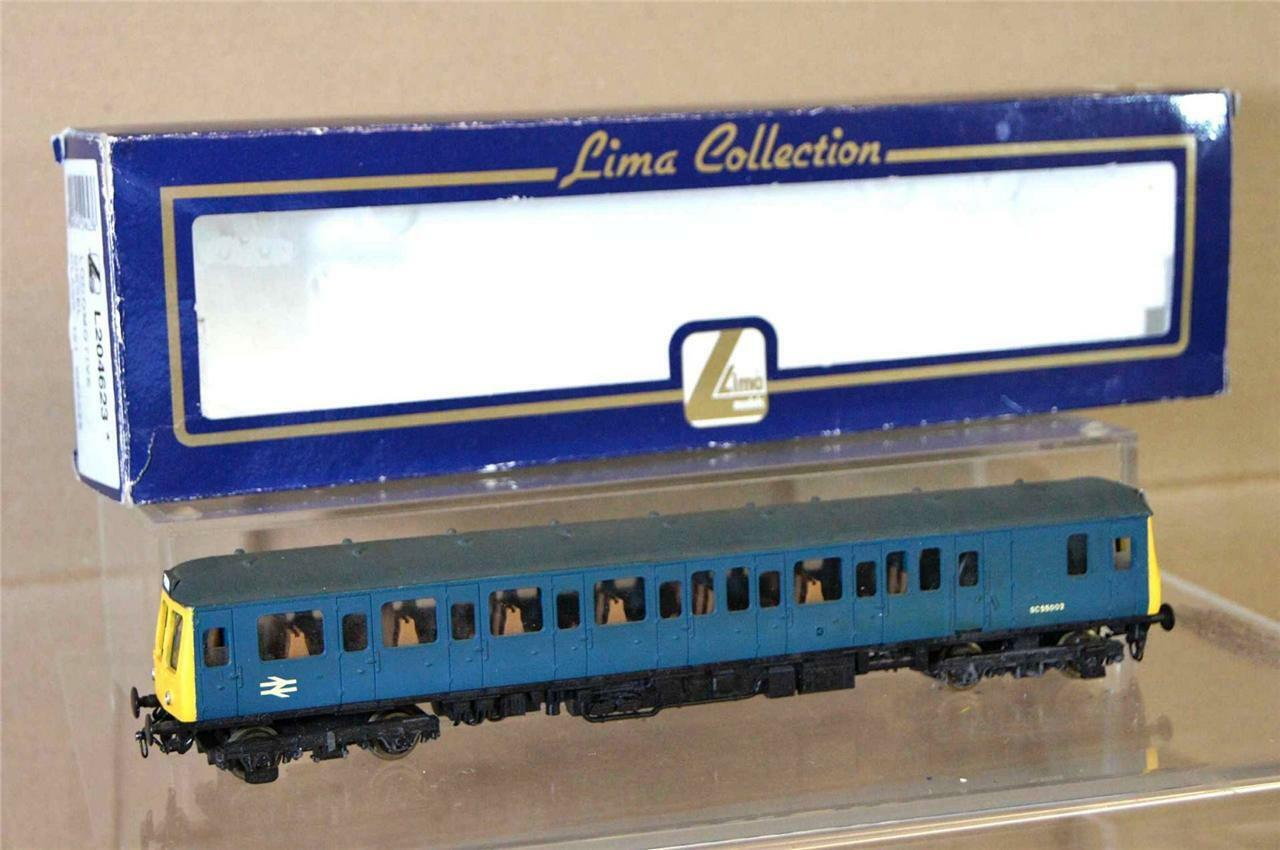 LIMA 4623 KIT BUILT BR CLASS 121 RAILCoche LOCO SC 55002 REPAINTED DETAILED mv