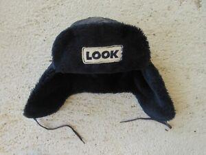 Chapka Bonnet de ski LOOK vintage années 80 rétro sport d'hiver hat cappello