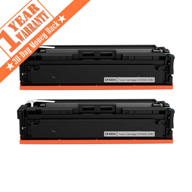 4pk for HP 201x Color LaserJet Pro MFP M277dw M252dw Cf400x Toner Cartridge