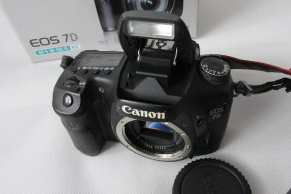 Consciencieux Canon Eos Eos 7d 18mp Digital-slr Appareil Photo/caméscope Corps Seulement-pas Cher 24 H Dispatch-er Body Only -cheap 24h Dispatch