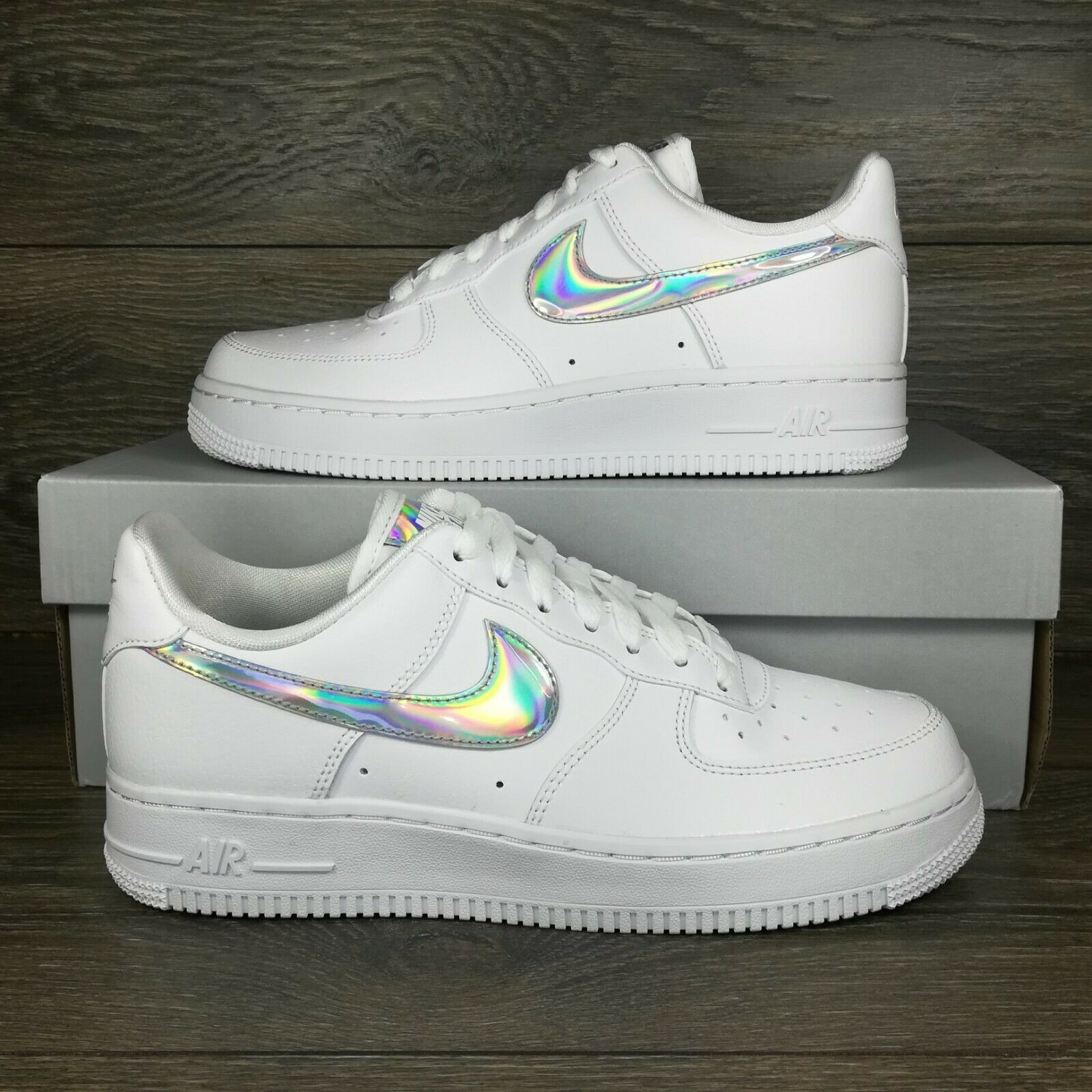 air force 1 swoosh pack white