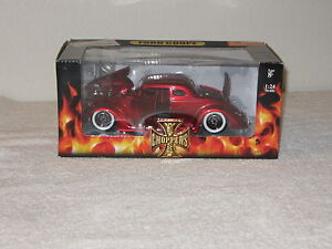 NIB-CALIFORNIA-WEST-COAST-CHOPPERS-RED-FORD-COUPE