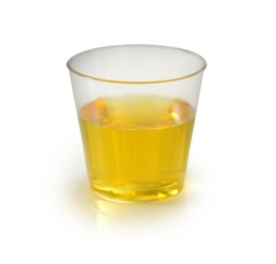 1.5 oz. HEAVY-PLASTIC DISPOSABLE CLEAR SHOT GLASSES  1000 ct. BARWARE WINE GLASS
