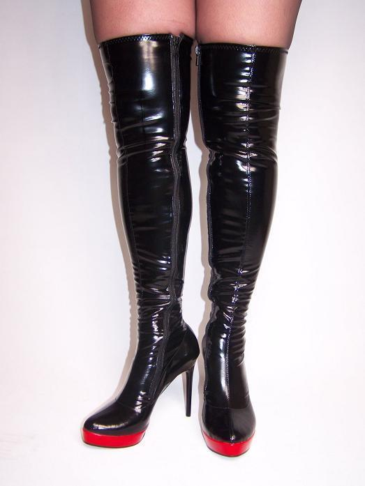 High heels, stiefel lack -pu -size 35-47 producer -Polen shoes 13cm