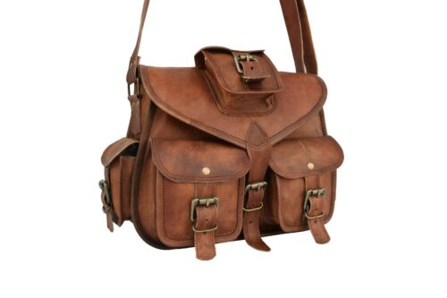 Messenger Satchel 12in lederen Womens Vintage Crossbody handtas Bag schouder fb7gY6y
