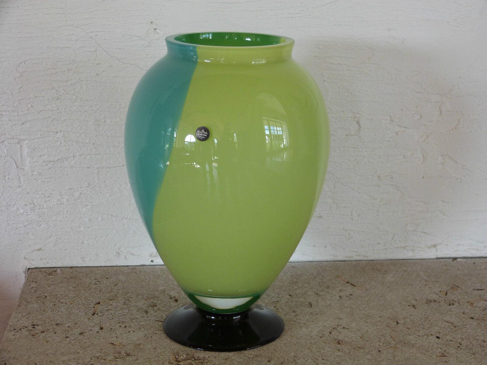 1 Vase 30cm Farbfeuer von Rosanthal Michael Böhm | Qualitätsprodukte