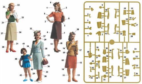 Details about  /Women of WWII era Master Box 1:35 Plastic model kit #35148