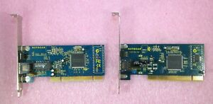 2-TWO-x-NETGEAR-FA311-10-100-MBPS-RJ45-PCI-ETHERNET-NETWORK-CARDS-ADAPTERS