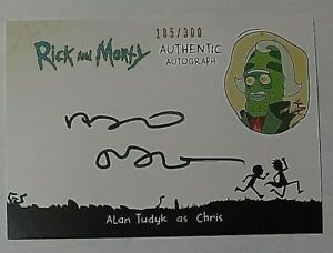 Rick-amp-Morty-Season-2-Authentic-Autographs-Alan-Tudyk-Auto-185-300-Firefly-SW