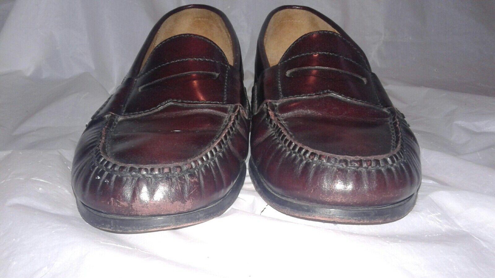 Cole Haan sz Men's Burgundy Penny Loafers sz Haan 9D 63f712