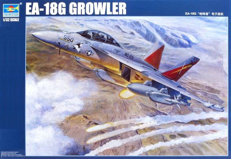 Trumpeter 1 32 03206 EA-18G Growler