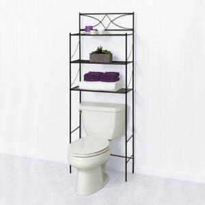 3 Shelf Over The Toilet Bathroom Space, Bathroom Space Saver Over Toilet