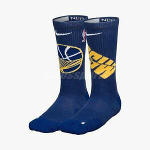 Image is loading Nike-Unisex-GSW-Elite-Crew-NBA-Basketball-Socks- 9ff9bff53