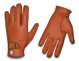 Vintage-Driving-Classic-Leather-Gloves-Fashion-Dressing-Chauffeur-Car-Men-Women