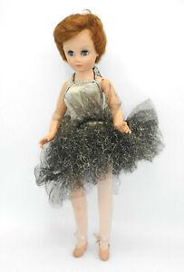 Vintage-14R-Modepuppe-Fashion-Doll-ca-50cm-gross-60erJahre-Ballerina-mit-Spieluhr