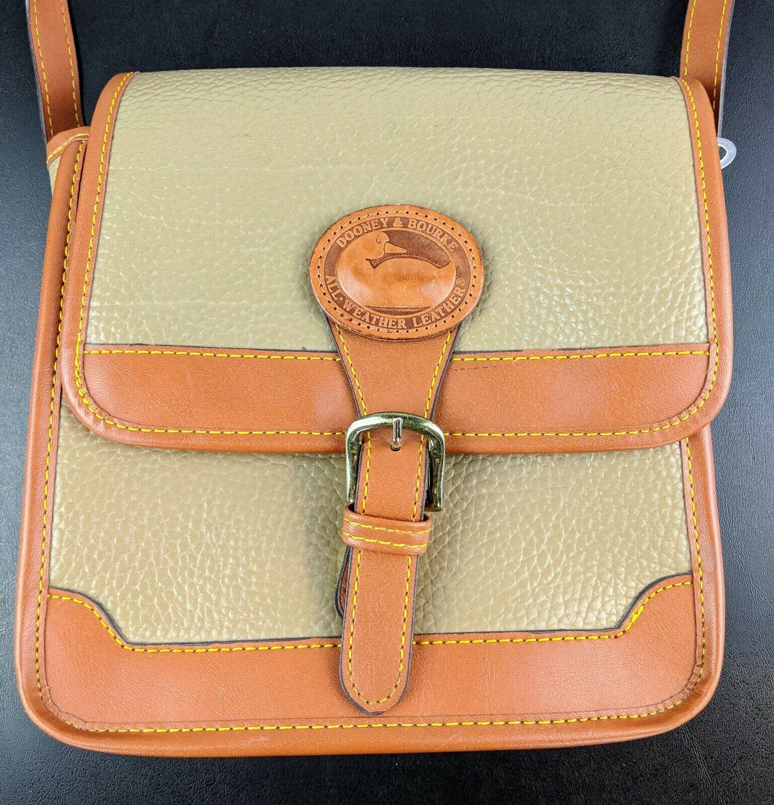 Dooney & Bourke Tan Brown Small Purse Handbag Tra… - image 2